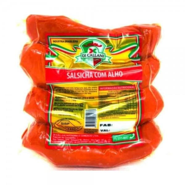Salsicha com Alho Di Callani