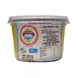 Manteiga Pirâmide C/ Sal 500g